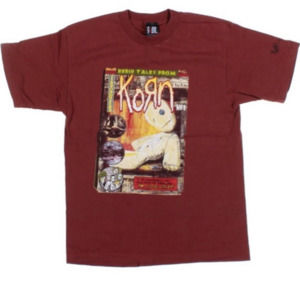 Korn 90s Rock Band T-shirt Graphic Vintage Album X